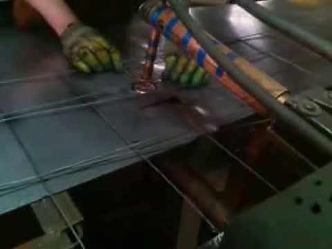 мастер класс пр производству кладочной сетки