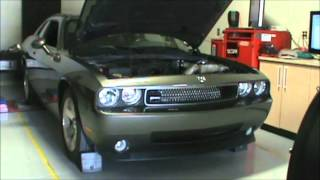 Supercharged V6 Dodge Challenger being Tuned by RDP Motorsport