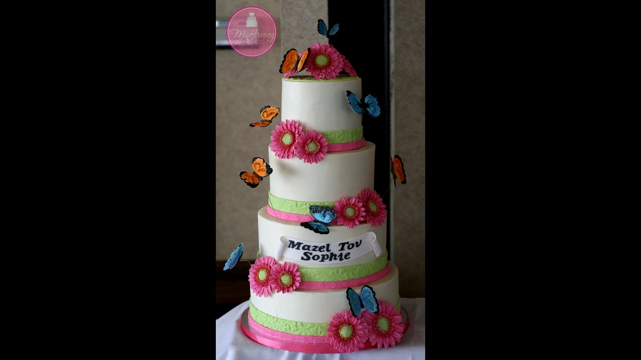 wedding cake how to stack smooth buttercream finish tutorial plus stacking a 4 tier 22855