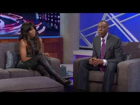 GREAT Thigh Boots On Kelly Rowland