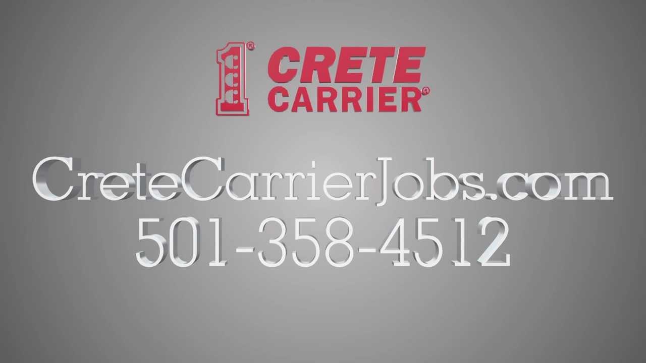 Arkansas Truck Driving Jobs 501 358 4512 Crete Carrier