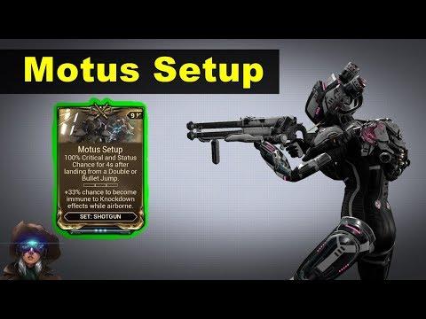 Motus Setup - For Bouncy Shotgun Players! (Vaykor Hek + Drakgoon)