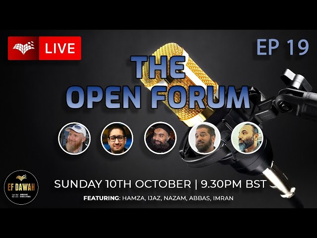 The Open Forum   Episode 19