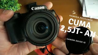 Unboxing + Review Kamera Canon SX430 IS : Cocok banget buat VLOG!