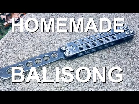 Knife Making - Butterfly Knife / Balisong