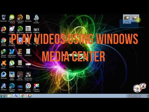 How To Play Videos Using  Windows Media Center If No Video Player Intall