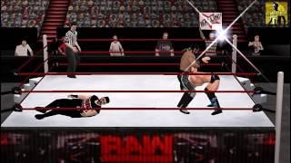 WWE 2K17 PSP - Little Gameplay