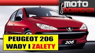 Peugeot 206 WADY I ZALETY #283 MOTO DORADCA