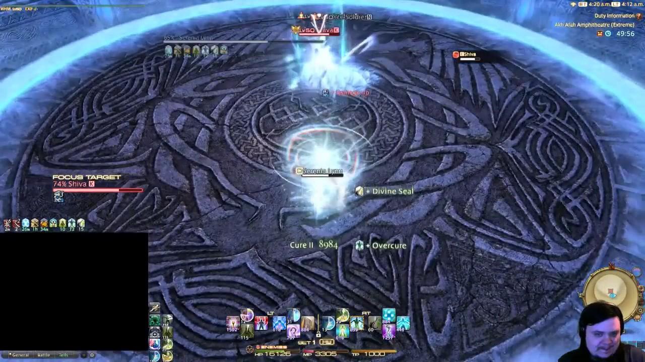 FFXIV: Shiva Extreme Solo (WHM: FULL BATTLE)