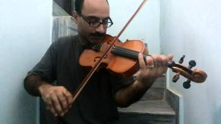 Pankh Hote To Ud Aate Re on Violin
