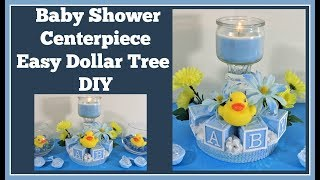 Baby Shower Centerpiece 🍼 Dollar Tree DIY