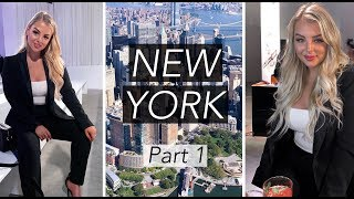 SHOPPING IN NEW YORK + ATTENDING A FANCY EVENT!