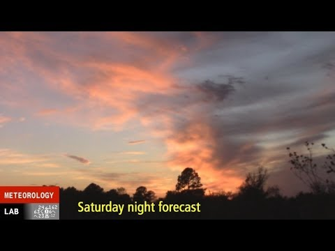 NIGHTLY WEATHER - Sat 11/18/2017 - Cold fronts, cold air advection, and polar front jet