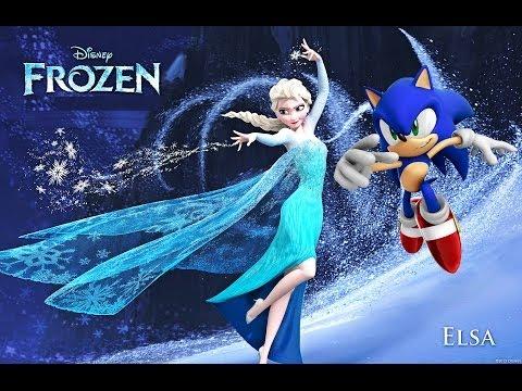 Frozen - Let It Go ~ A Sonic Music Video HD