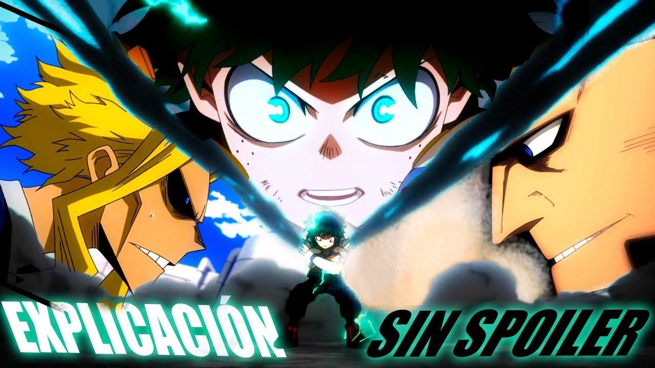 EXPLICACIÓN (Sin SPOILER): Los nuevos dones de Izuku y el One For All.