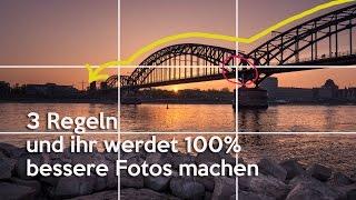 3 FOTOGRAFIE Regeln und du wirst 100% BESSER!