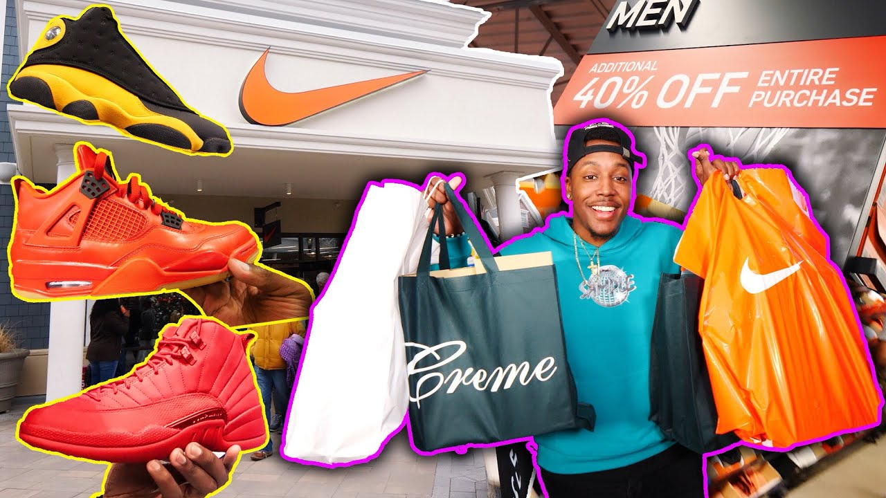 INSANE BLACK FRIDAY SHOPPING SPREE! OUTLET DEALS, CHEAP OFF-WHITE! MAJOR STEALS! 3 SNEAKER PICKUPS!