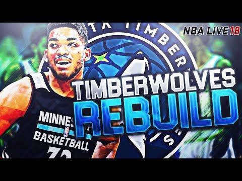 REBUILDING THE MINNESOTA TIMBERWOLVES! WE SIGNED A SUPERSTAR! NBA LIVE 18 FRANCHISE MODE
