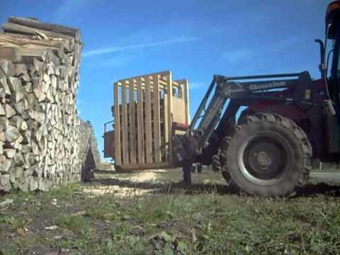 D bit de bois de chauffage youtube - Casier a bois de chauffage ...