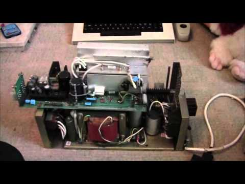 Quantel Paintbox Resoration Part 1:   A teardown of the harddrive's very scary Linear Power Supply!
