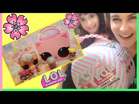 LOL SURPRISE GIGANTI!? 'OOH LA LA BABY SURPRISE' KITTY QUEEN by LARA e BABOU