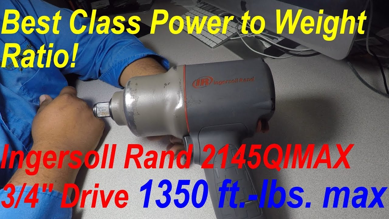 Ingersoll Rand 2145QIMAX Impact Wrench Tool (1350 ft -lbs  max)