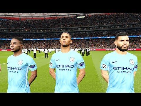 Shakhtar Donetsk vs Manchester City | UEFA Champions League 2017/18 Gameplay