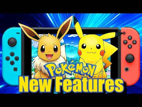Pokemon Switch | 5 New Gameplay Features We Need