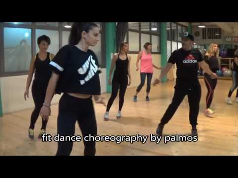 Mark Ronson - Uptown funk ft Bruno Mars - Fit Dance Choreography by Palmos Gym Chania