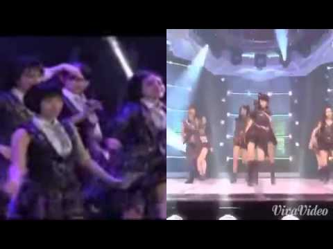 UE KARA MELODY JKT48 VS UE KARA MARIKO AKB48