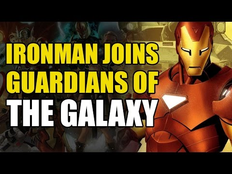 Iron Man Joins The Guardians Of The Galaxy (Guardians of The Galaxy Vol 1: Cosmic Avengers)
