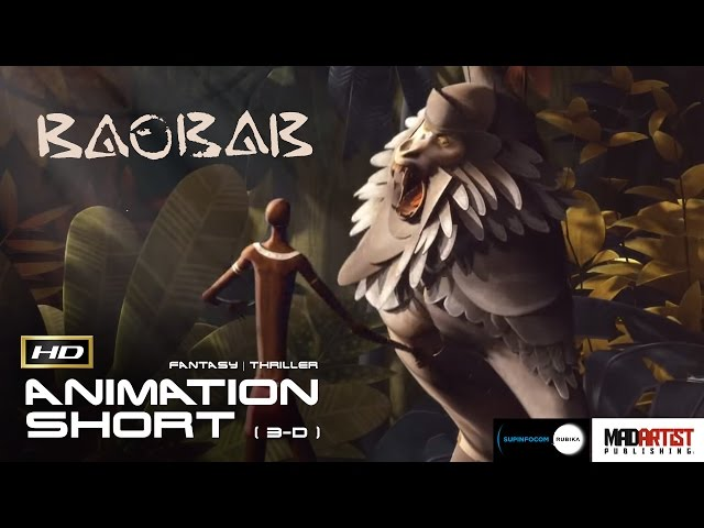 Baobab | A Forest Protector must protect the tree (3D CGI Animation by Supinfocom)