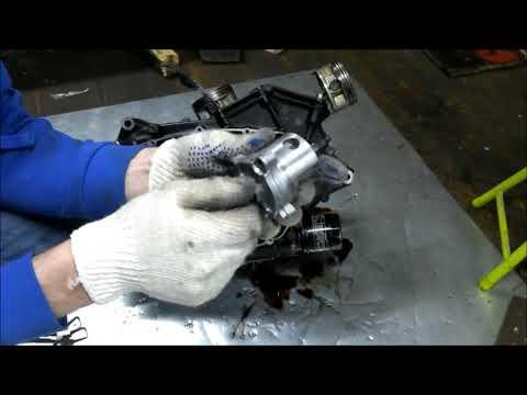 Снятие крышки сцепления Suzuki VL800