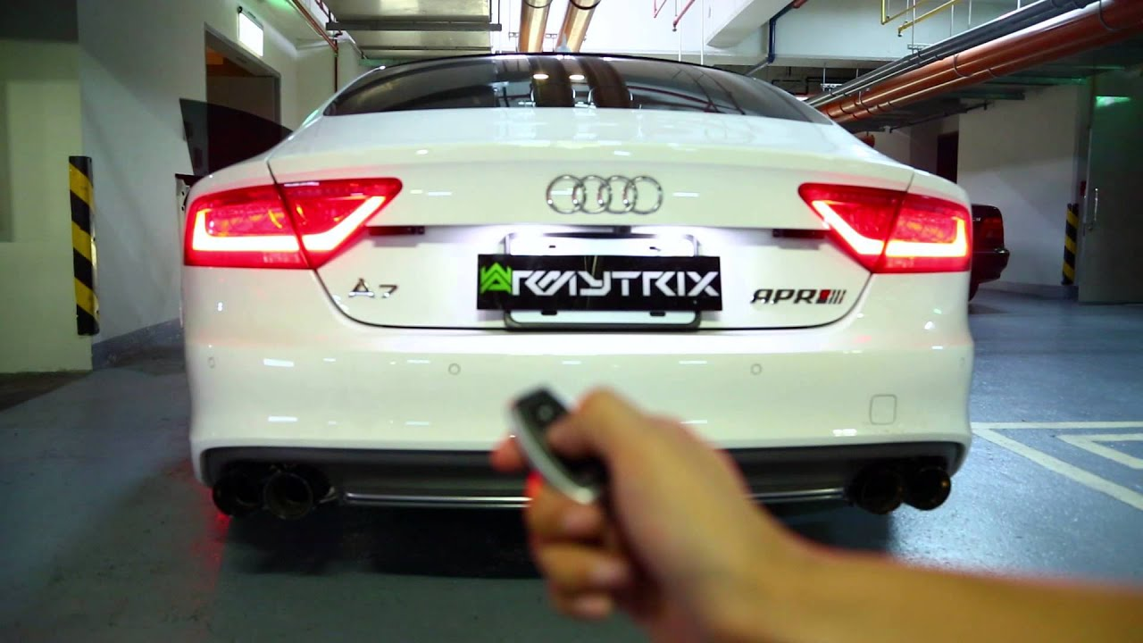 Audi A7 3 0t Sportback With Armytrix Performance Exhaust