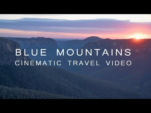 Blue Mountains NSW 4k [Cinematic Travel Video]