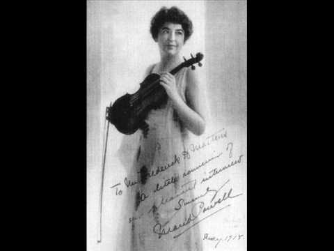 Maud Powell - Four American Folk Songs