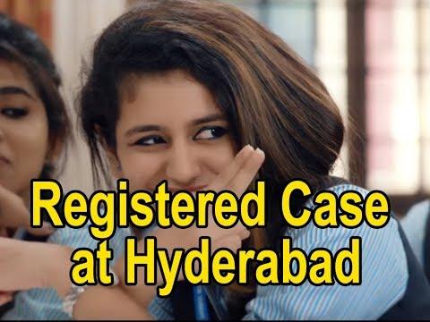 Hyderabad Police registered case against Priya Varrior