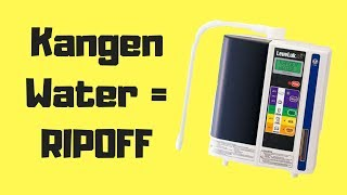 Kangen Water Scam   Kangen Water Machine Price