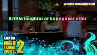 KARAOKE You Are The Music in Me - High School Musical 2