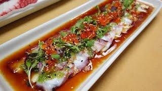 Octopus Carpaccio - How To Make Sushi Series