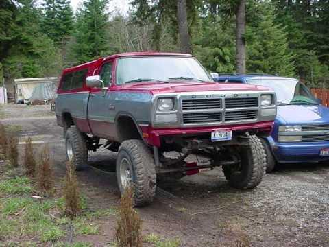 Picture slide show of first gen Dodge Cummins Diesel - YouTube
