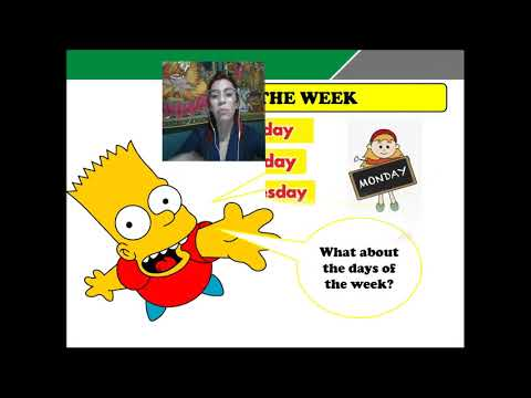 TALLER DE INGLÈS MONTHS OF THE YEAR DAYS OF THE WEEK AND ORDINAL NUMBER CUARTO BASICO