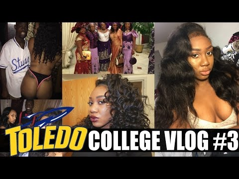 COLLEGE VLOG #3 - HALLOWEEN, GREEK LIFE, & MORE PARTIES| UTOLEDO