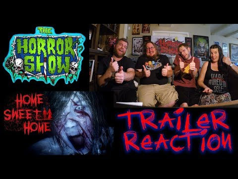 """Home Sweet Home"" 2017 VR Horror Video Game Trailer Reaction - The Horror Show 
