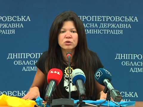 Видео: Руслана обещает активничать в Днепропетровске и поддерживать партизан
