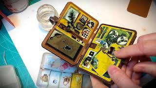 Kenner Oscar Goldman Exploding Briefcase - Repair, Restore, Review