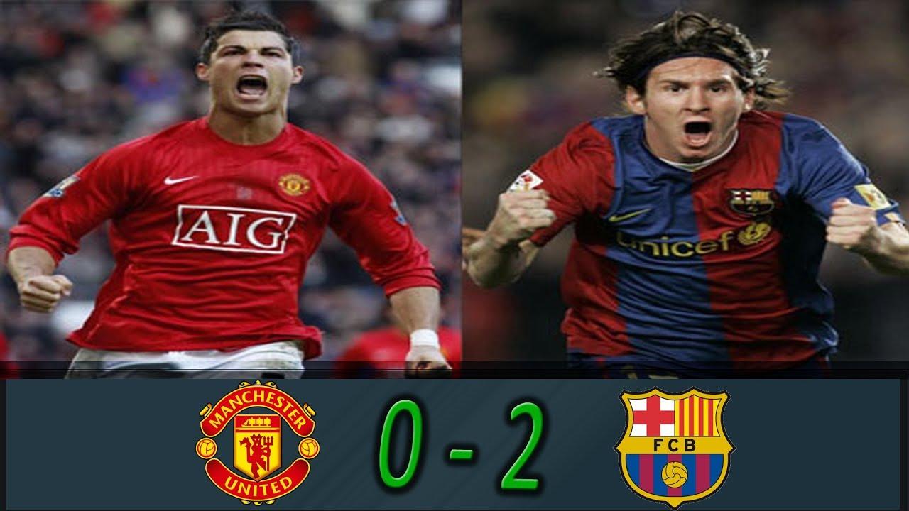 نهائي دوري أبطال اوروبا 2009 برشلونة ومانشستر يونايتد 2 0