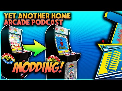 Yet Another Home Arcade Podcast  - Modding Arcade1up | AtGames | NeoGeo MVSX from Console Kits