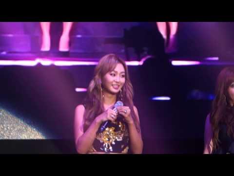 141228 SISTAR Hyorin singing Let It Go [Frozen OST] @ KCON6