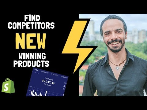 Shopify product research guide for 2019 (Find competitors NEW winning products) thumbnail